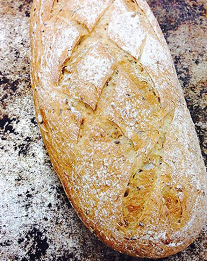 Nurmileipä - 3-viljan leipä