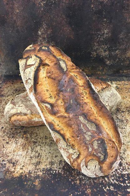 Nurmileipä - Juhlaleipä levain
